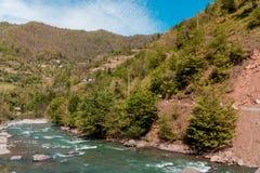Ajardine nas montanhas, Ajara, Geórgia Imagem de Stock