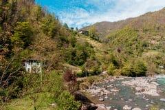 Ajardine nas montanhas, Ajara, Geórgia Imagens de Stock