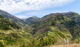 Ajardine nas montanhas, Ajara, Geórgia Fotografia de Stock Royalty Free