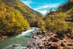 Ajardine nas montanhas, Ajara, Geórgia Fotografia de Stock