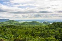 Ajardine nas montanhas de Myanmar em Pyin Oo Lwin Foto de Stock