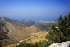 Paisagem nas montanhas Foto de Stock