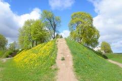 Ajardine no parque na fortaleza de Lappeenranta, Fotografia de Stock Royalty Free