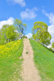 Ajardine no parque na fortaleza de Lappeenranta, Fotografia de Stock