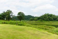 Ajardine no parque nacional de Kaeng Krachan da área de acampamento Imagem de Stock
