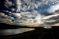 Ajardine no patagonia Foto de Stock Royalty Free