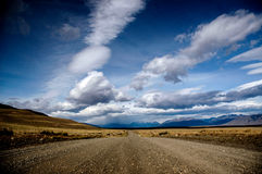 Ajardine no patagonia Imagem de Stock Royalty Free