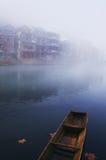 Ajardine no rio Fotografia de Stock Royalty Free