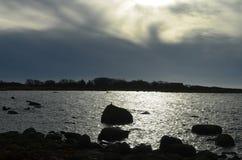 Ajardine no sul de sweden no dia Fotografia de Stock
