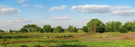 Ajardine, panorama Imagens de Stock