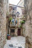 Ajardine perto de Trogir antes da tempestade, Croácia Imagens de Stock Royalty Free