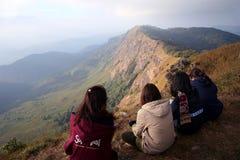 Ajardine una montaña en Tailandia Fotografía de archivo libre de regalías
