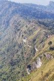 Ajardine a vista do parque nacional da montanha do fá do qui de Phu em Chiang Rai, Tailândia Foto de Stock Royalty Free