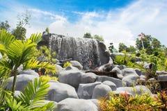 Ajardine a vista em um jardim do krabi Tailândia do céu 7 Imagens de Stock Royalty Free