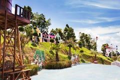 Ajardine a vista em um jardim do krabi Tailândia do céu 7 Fotos de Stock Royalty Free