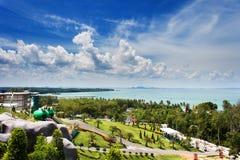Ajardine a vista em um jardim do krabi Tailândia do céu 7 Imagens de Stock
