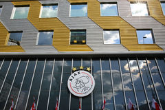Ajax Amsterdam logo Fotografia Royalty Free