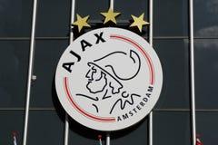 Ajax Amsterdam logo Fotografering för Bildbyråer