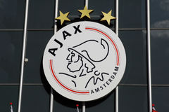 Ajax Amsterdam logo Stock Image
