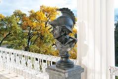 Ajax Sculpture Tsarskoye Selo St Petersburg Rússia foto de stock royalty free