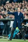 Ajax trenera trener Frank De Boer Zdjęcia Stock