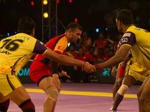 Ajay Thakur raiding Royalty Free Stock Photos