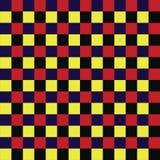 Ajedrez cuadrado colorido ilustración del vector