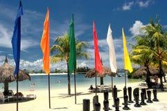 Ajedrez en la playa Foto de archivo libre de regalías