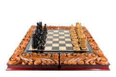 Ajedrez Tarjeta de ajedrez Fotos de archivo