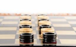 Ajedrez Tarjeta de ajedrez Fotografía de archivo libre de regalías