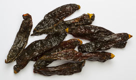 Aji panca. Dried aji panca peppers from Peru Royalty Free Stock Images