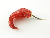 Aji pepper. Dried aji pepper Royalty Free Stock Image