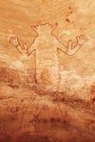 ajjer Algeria n obrazów rockowy tassili zdjęcia stock