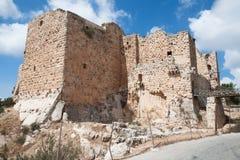 ajloun堡垒乔丹 免版税库存照片