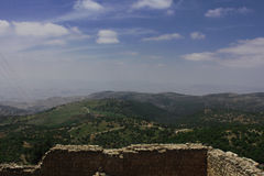 Ajloun casle στοκ εικόνα