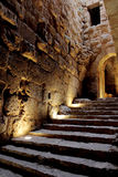 Ajloun castle in Jordan Royalty Free Stock Photo