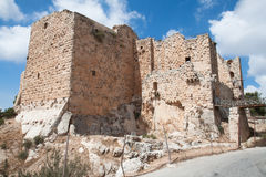 Ajloun fortress. Jordan. Royalty Free Stock Photos