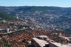 Ajloun, Jabal Ajlun, Mount Ajlun, Jordan, Middle East Royalty Free Stock Image