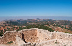 Ajloun, Jabal Ajlun, Mount Ajlun, Jordan, Middle East Stock Photo