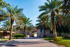 Ajman, Emiratos Árabes Unidos - 6 de dezembro de 2018: Sho do museu de Ajman imagens de stock