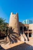 Ajman, Emiratos Árabes Unidos - 6 de dezembro de 2018: Sho do museu de Ajman fotos de stock royalty free