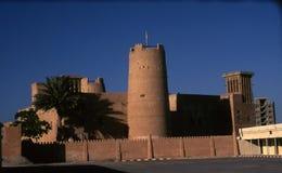 Ajman fort, Ajman Arkivfoto