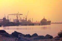 AJMAN zatoczka, DUBAJ na 21 2017 Lipu Fotografia Stock