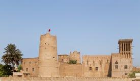 Ajmanmuseum - Verenigde Arabische Emiraten royalty-vrije stock foto's