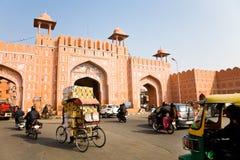 Ajmeri gate, Jaipur, Rajasthan Royalty Free Stock Images