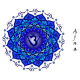 Ajna chakra Royalty Free Stock Images