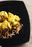 Ajo Tikka - un plato del limón de pollo asado a la parrilla. Fotografía de archivo libre de regalías