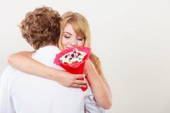 Ajouter à étreindre de fleurs de groupe de sucrerie Amour Photographie stock