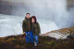 Ajouter à l'appareil-photo en Islande Image libre de droits
