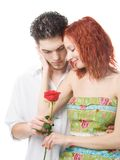 Ajouter à une fleur Photo libre de droits